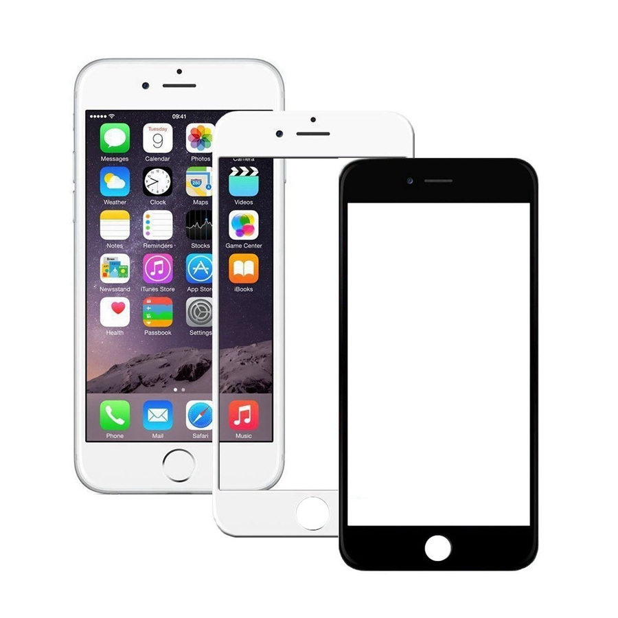 White&Black Front LCD Touch Screen Front Glass Lens For IPhone 5 5s 6 Plus 6s Plus 7 Plus Touch Panel Outer Glass Replacement