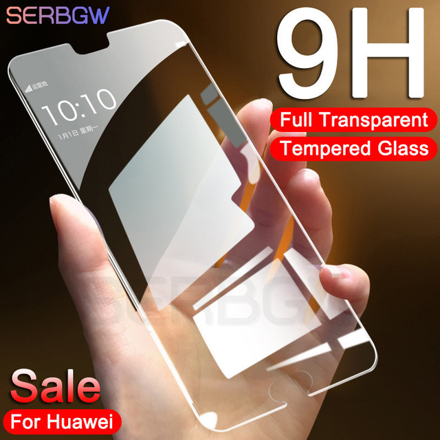0.22mm 9H Tempered Glass For Huawei P9 P10 P20 Lite Plus Protective Glass For Huawei P20 Pro P Smart 2019 Screen Protector Film