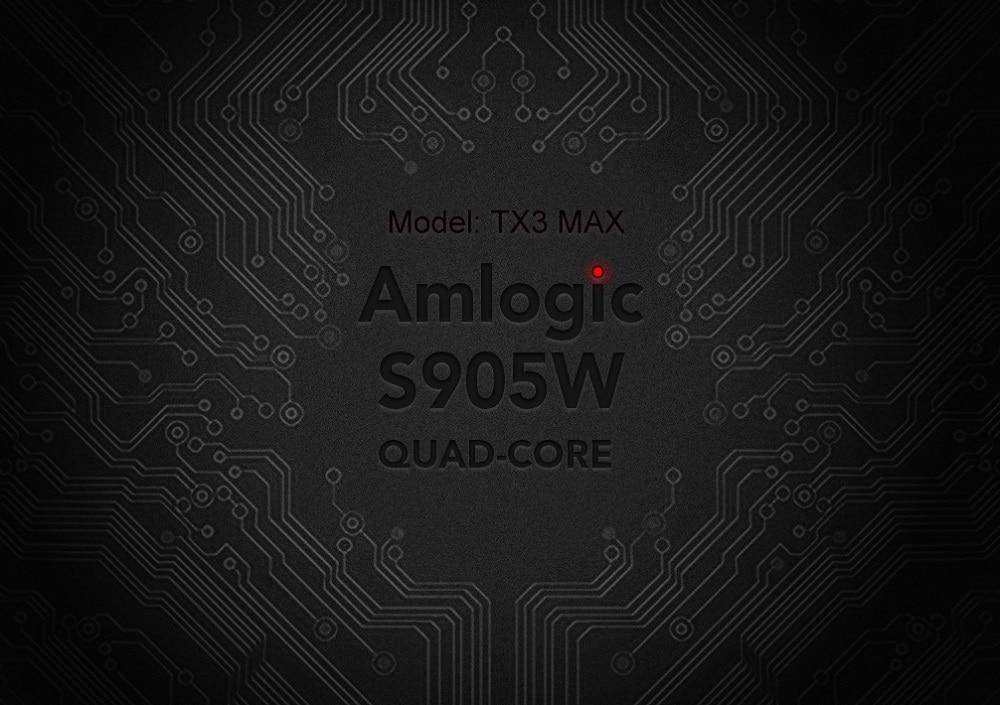 android 7.1 caixa de tv amlogic s905w