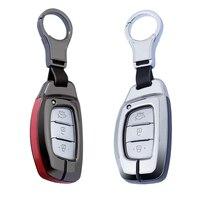 Hohe Qualität Schlüssel Abdeckung Fall Tasche Für Hyundai Creta I10 I20 Tucson Elantra Santa Fe IX35 2016 2017 2018 Fob smart Key Schützen|Schlüsseletui für Auto|   -