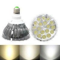 Wholesale 8PCS Lot White Shell Color 36W PAR38 LED Spotlight Bulb AC100 277V LED Downlight Free