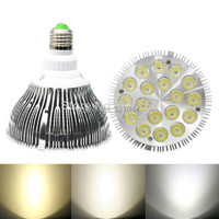Groothandel 8 Stks/partij Wit Shell Kleur 36 W PAR38 LED Spotlight lamp  AC100 277V LED Downlight  gratis Verzending-in LED Lampen & Buizen van Licht & verlichting op