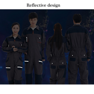Image 3 - Men Women Overalls Labor protective Work clothing Dust proof Comfortable Breathable Machine Auto repair Long sleeve Coveralls