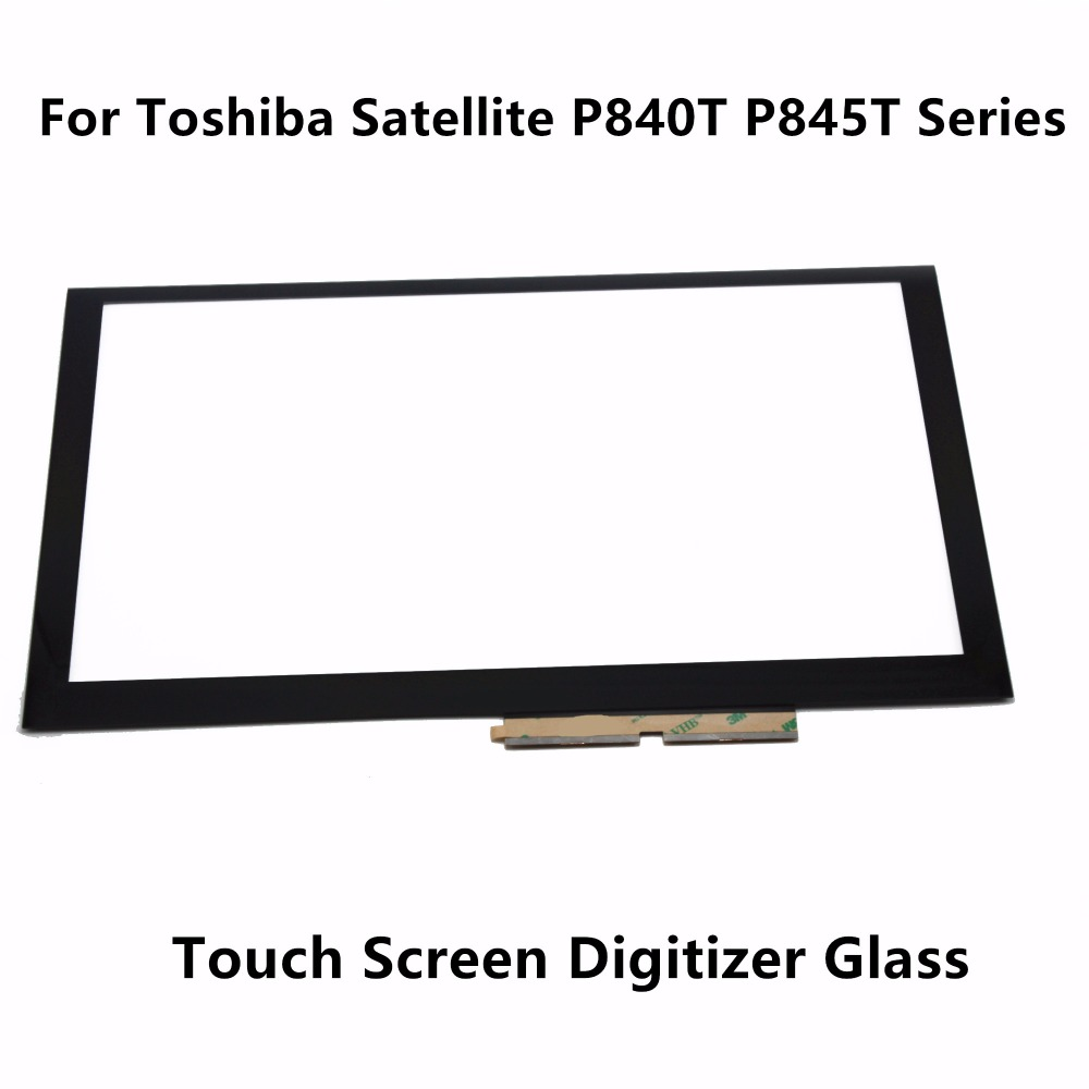 Original New 14 Touch Panel Screen Digitizer Glass Replacement For Toshiba Satellite P840T P845T Series P840T-1007X P845T-S4102 original 14 touch screen digitizer glass sensor lens panel replacement parts for lenovo flex 2 14 20404 20432 flex 2 14d 20376