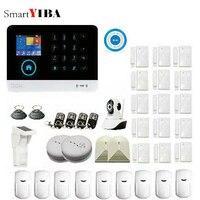 SmartYIBA 3g Wi Fi сигнализация наборы беспроводной сигнализации системы безопасности дома с наружной солнечной питомец PIR сенсор приложение упра