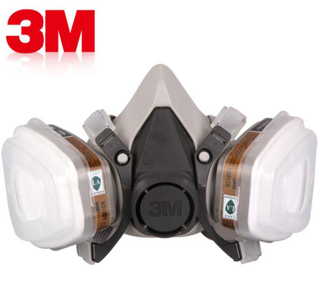 Half Face Painting Spraying Respirator Gas Mask Dust Filter