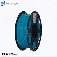 3D printer PLA Filament 1.75mm for 3D Printers, 1kg(2.2lbs) +/ 0.02mm Cyan color