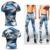 2017 Conjuntos de Calça E Camisa De Compressão Dos Homens 20167 Camuflagem Camuflagem Conjuntos de Calça E Camisa De Compressão Dos Homens T-shirt Dos Homens Corredores