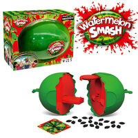 Watermelon Smash Gag Novelty Toys For Children Water Challenge Plastic Party Toy Friends Family Red Green Color Funny Tool Mb027