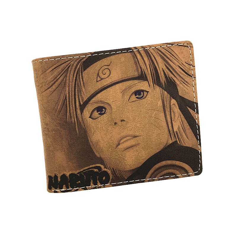 Birthday Gift Cute Cartoon Wallet Naruto Tokyo Ghoul Detective Conan Card Holder Men Wallet  Short Purse Student wallet ea7 ea7 ea002emhec27