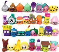 NO repeat LPS Toy 100Pcs/lot Little Pet Shop MiniFigures Pokeball Movie Moana Princess Trolls action figure for Christmas Gift
