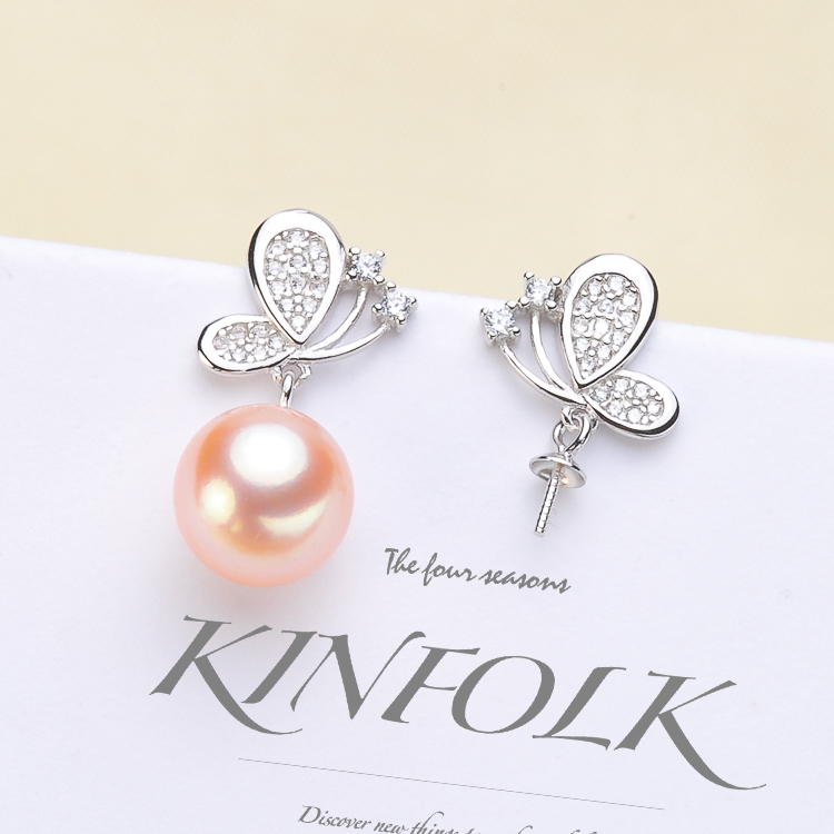 925 Sterling Silver Pearl Party