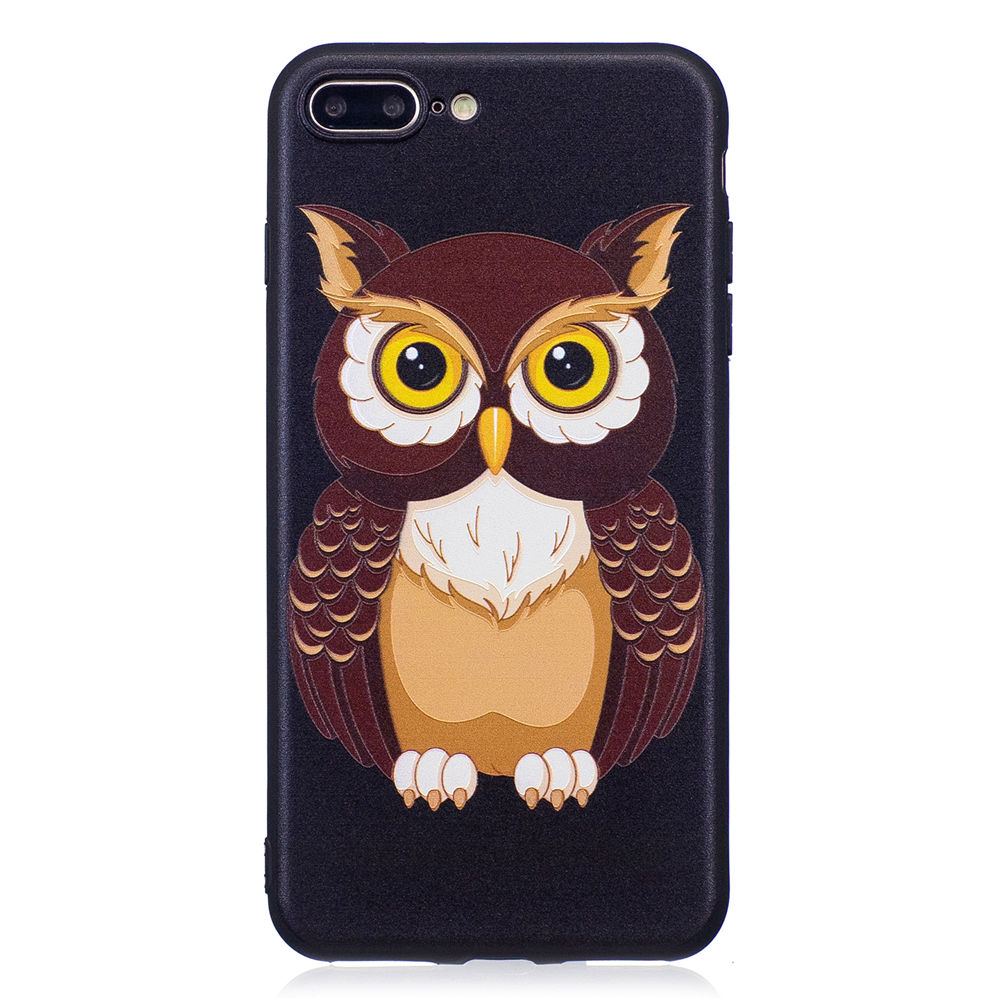 Cool Phone Cases Coque For Apple iPhone 7 Plus iPhone7Plus 5.5 Covers Relief TPU Fundas Capas For iPhone7Plus Cases Boys Girls