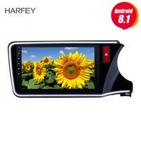Harfey 10.1Android 8.1 for 2014 2015 2016 2017 HONDA CITY RHD Radio car multimedia player with 3G WIFI Bluetooth SWC
