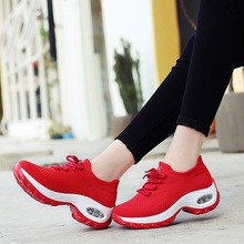Women Walking Shoes Summer Breathable Sports Shoes For Woman Size 35-42 Sneakers Women Athletic Height Increasing Sport Sneakers