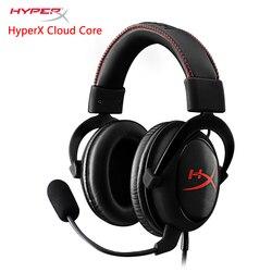 HyperX Cloud core Игровая гарнитура Автоматическое шумоподавление наушники AMP USB звуковая карта продается отдельно