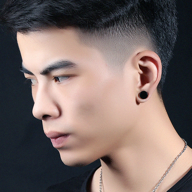 mens earrings plugs