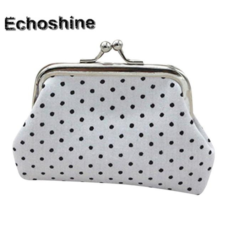 2016 new brand and fashion Womens Dot cloth purse Small Wallet Holder Coin Purse Clutch Handbag Bag & wholesale A3000 hcandice womens wallet card holder coin purse clutch bag handbag best gift wholesale jan29