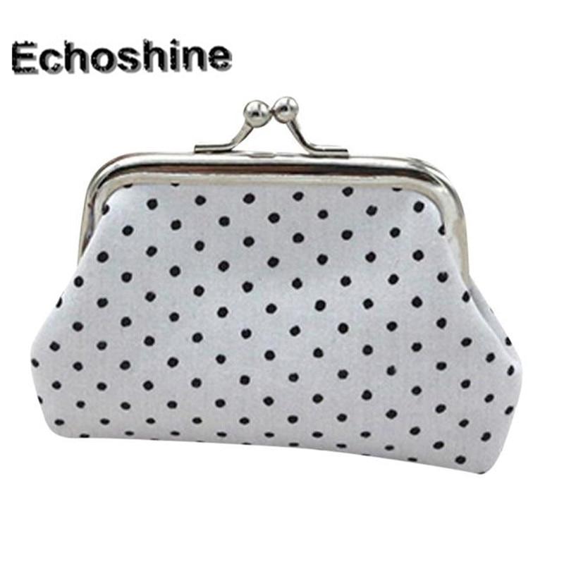 2016 new brand and fashion Womens Dot cloth purse Small Wallet Holder Coin  Purse Clutch Handbag 2f008d0e75