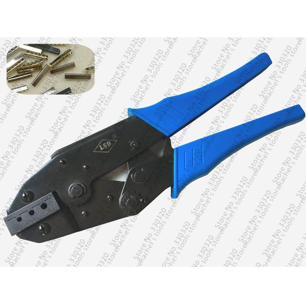 Gut Ausgebildete Hand Aglet Crimpen Werkzeuge Crimper Werkzeug Für Befestigen Metall Mantel Aglets Zu Ende Der Schnürsenkel Reinweiß Und LichtdurchläSsig Werkzeuge