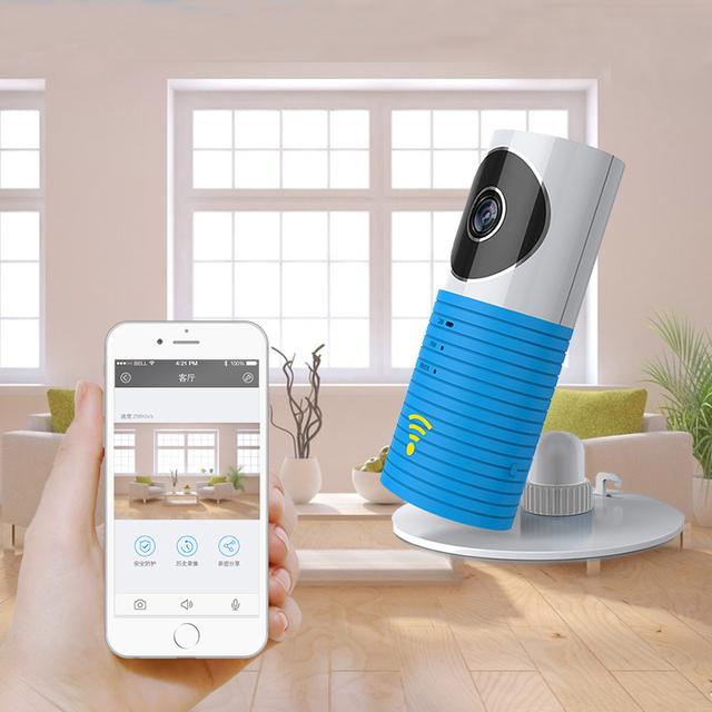 Wifi inalámbrico Monitor de 720 Alertas de Visión Nocturna Por Infrarrojos Cámara IP Inteligente de Intercomunicación Cámara Embutido Micrófonos Altavoz