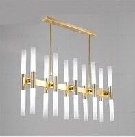 Iron Corrugated Pendant Lights Bar Restaurant Hotel Room Study Lamps Gold Luxurious Creativity Pendant Lamps Za