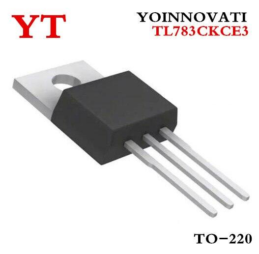 10 PCS TL783CKC TO-220 TL783C TL783 VOLTAGE ADJUSTABLE REGULATOR NEW