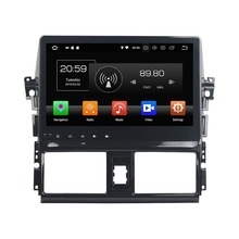 10.1″ Android 8.0 Car DVD Radio GPS Navigation for Toyota Yaris Vios 2013-2016 4GB RAM Bluetooth WIFI USB Mirror-link 32GB ROM