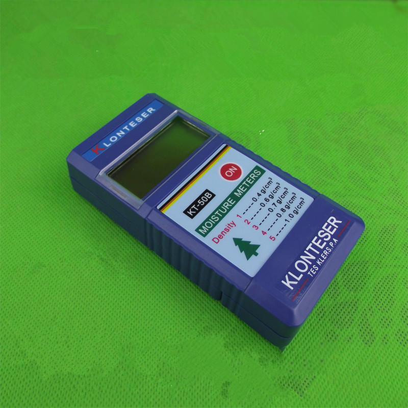 KT 50B Digital Inductive Wood Moisture Meter Testers Paper Tree Timber humity meters Measuring range 2~90% 0.1 Accuracy