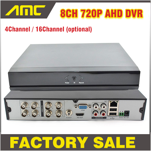 4 8 16CH Channel CCTV DVR 720P Digital Video Recorder H.264 AHD Hybrid NVR DVR HVR HDMI Output for IP Camera AHD Camera cctv camera dvr system ahd 720p kit optional 2 3 4 channel cctv dvr hvr nvr 3 in 1 video recorder infrared dome camera security