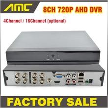 4 8 16CH Channel CCTV DVR 720P Digital Video Recorder H.264 AHD Hybrid NVR DVR HVR HDMI Output for IP Camera AHD Camera