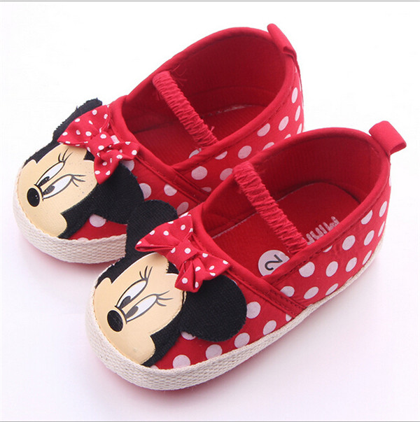 Mother & Kids ... Baby Shoes ... 32624631315 ... 2 ... New Cartoon Baby Shoes Infants Girls First Walkers Soft Bottom Toddlers Crib Shoes ...