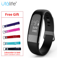 Utalife U18 Smart Bracelet ECG Smart Wristband Blood Pressure Heart Rate Monitor Smart Fitness Tracker