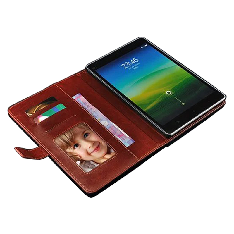 Genuine Wallet style Flip Leather Case For Xiaomi MiPad Cover MiPad 2 Case Cover Xiaomi MiPad2