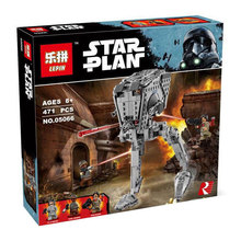 New Lepin 05066 Genuine Star War Series The Rogue One Imperial AT-ST Walker Set Building Blocks Bricks Educational Toys 75153