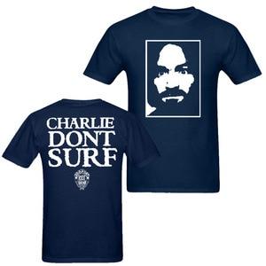 Image 4 - Charles Manson Charlie no Surf como usado Axl Rose 90s Vintage camiseta de los hombres y las mujeres de gran tamaño S XXXL