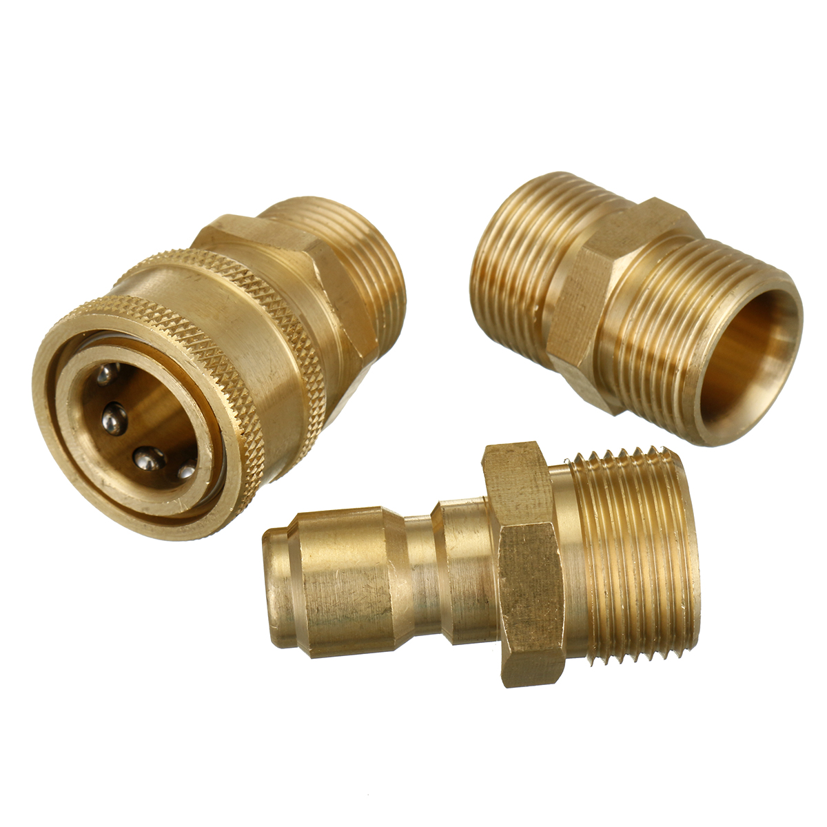 Electric Pressure Washer Fitting Connector Quick Release Hose Coupler M22