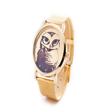 NEW Hot Classic Gold Animal Geneva Quartz 2017 Fashion Watches Men Luxury Brand Watches Men Sports watch