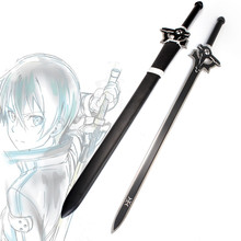carbon steel Japanese black blade sword  anime Zinc alloy katana  vintage home decor sword