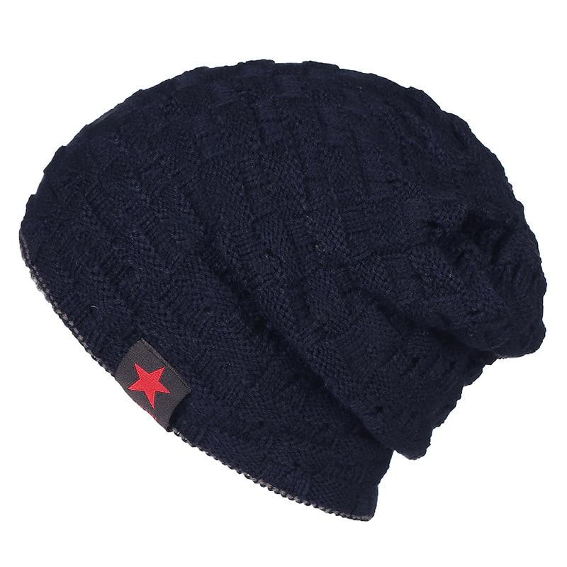 9e9cfaa7 Details about Winter Hats for Men Knitting Keep Warm Beanie Hat Men's Cap  Casual Knit Beanies
