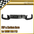 For BMW F06 F13 Coupe 4 door 6-Series M6 HM-Style Carbon Fiber Rear Diffuser (Only fit M-tech rear bumper