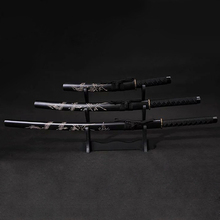 Japanese classic Samurai Black sword and Home decorations metal handicrafts Black Japanese katana цена