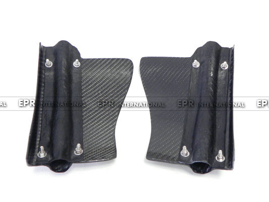 Carbon Fiber Rear Brake Cooling Kit Set For Nissan 2008-2011 R35 GTR стоимость