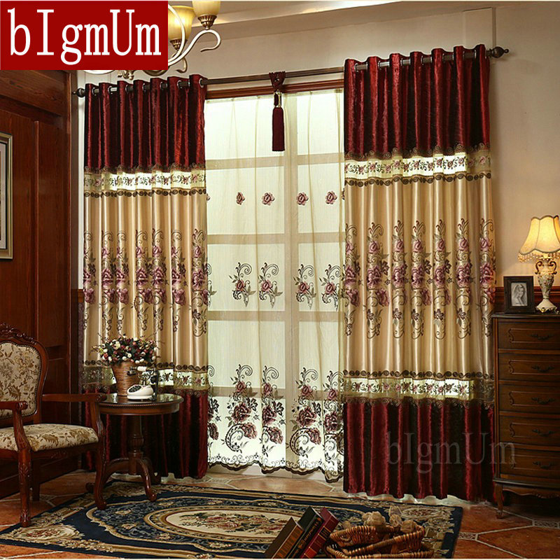 18 Elegant Living Room Kitchen Open Concept Fresh Home: New Luxury Curtains For Windows Drapes European Modern