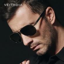 Veithdia Polarizadas gafas de Sol de diseñador Hombres de la marca de Moda gafas de Sol Hombres Gafas Accesorios lentes de sol mujer V64
