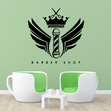 NEW barber shop Wall Stickers Vinyl Waterproof Home Decoration Accessories Decals