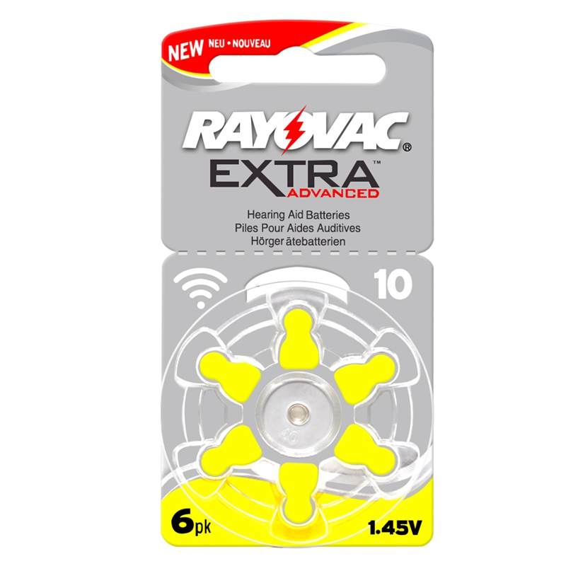 Image 4 - 60 PCS RAYOVAC EXTRA Zinc Air Performance Hearing Aid Batteries A10 10A 10 PR70 Hearing Aid Battery A10 Free Shipping-in Ear Care from Beauty & Health