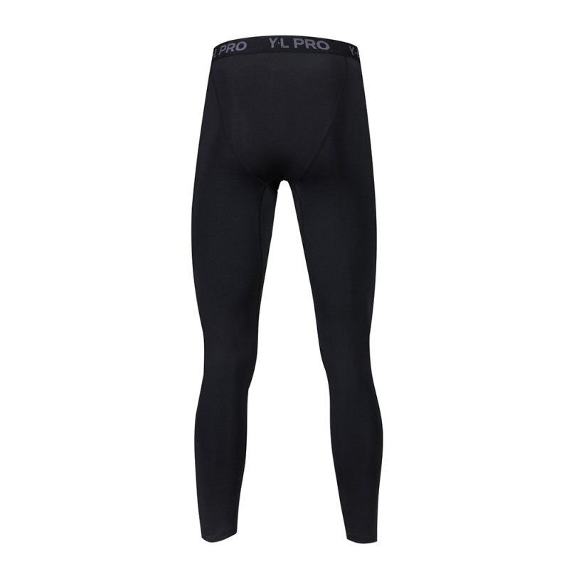 2018 Mens Compression Pants Bodybuilding Fitness Skinny Leggings Tights Pants Compression Pants Clothing Clothes