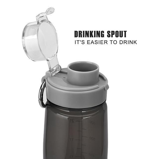 800ml Tritan BPA Free Leak Proof Water Bottle With Cover 1