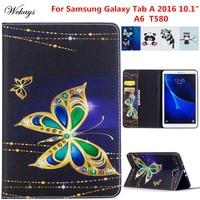 Wekays SFor Samsung Tab A6 10 1 Cartoon Leather Case For Samsung Galaxy Tab A6 A
